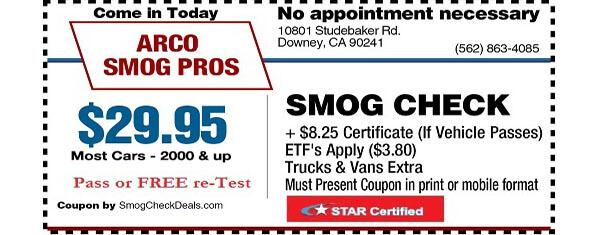 Cal Smog Test